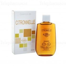 ESSENCE CITRONNELLE GIFRER Fl pulv/45ml