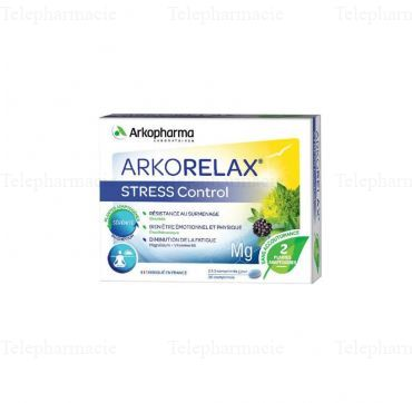 ARKORELAX STRESS CONTROL 30CPS