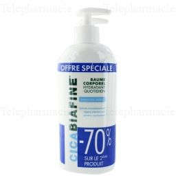 Baume Hydratant Corporel Quotidien Lot de 2 x 400ml
