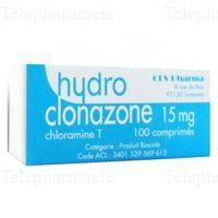 CLS HYDROCLO 15MG CPR BT100