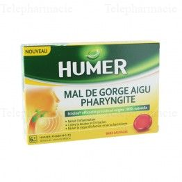 HUMER PAST PHARYNGITE AIGU 20