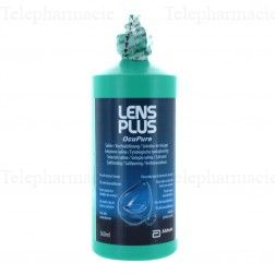 Lens Plus ocupure solution de rinçage flacon 360ml