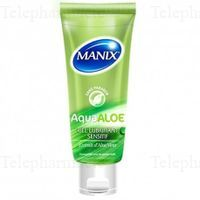 MANIX GEL LUBRIFIANT ALOE 80ML