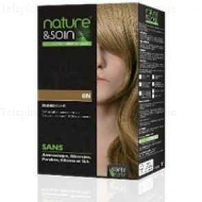Soin Des Cheveux Nature & Soin - Colorations Permanentes 8N Blond Clair