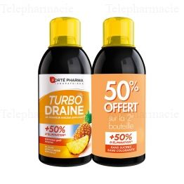 Turbodraine Ananas Lot de 2 x 500ml
