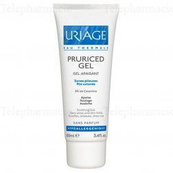 Pruriced gel zones pileuses plis cutanés tube 100ml