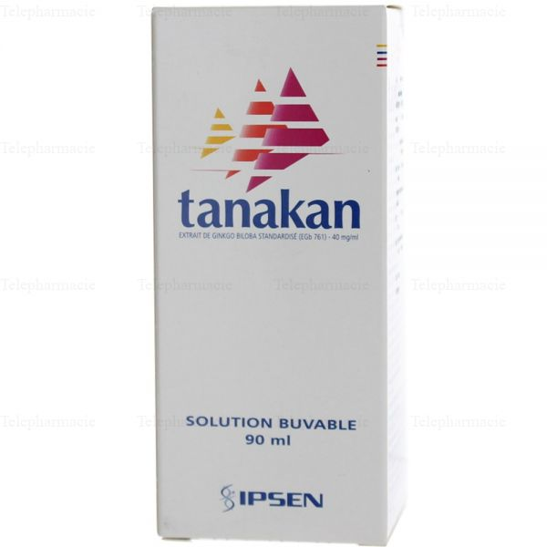 Tanakan40 mg/ml Flacon de 90 ml