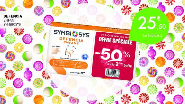 25,50€ le lot de 2 Defencia enfant de Symbiosys