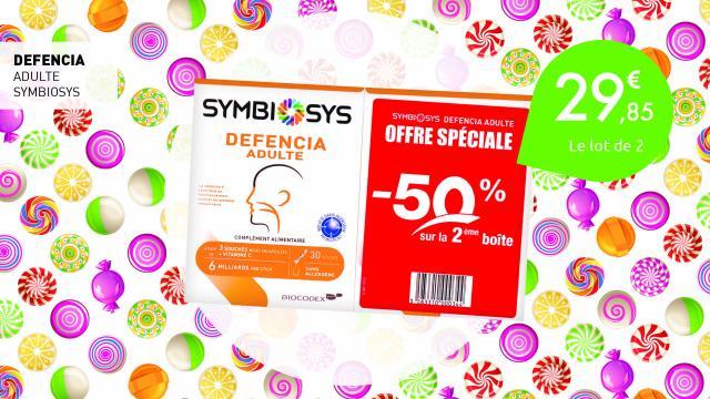 29,85€ le lot de 2 Defencia adulte de Symbiosys