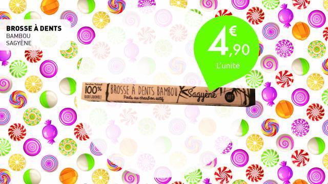 4,90€ la brosse a dents en bambou de Sagyene